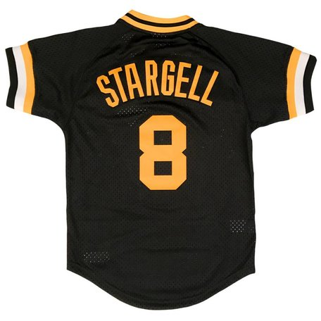WILLIE STARGELL 1982 BP JERSEY