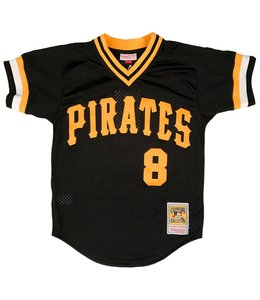 MITCHELL AND NESS WILLIE STARGELL 1982 BP JERSEY