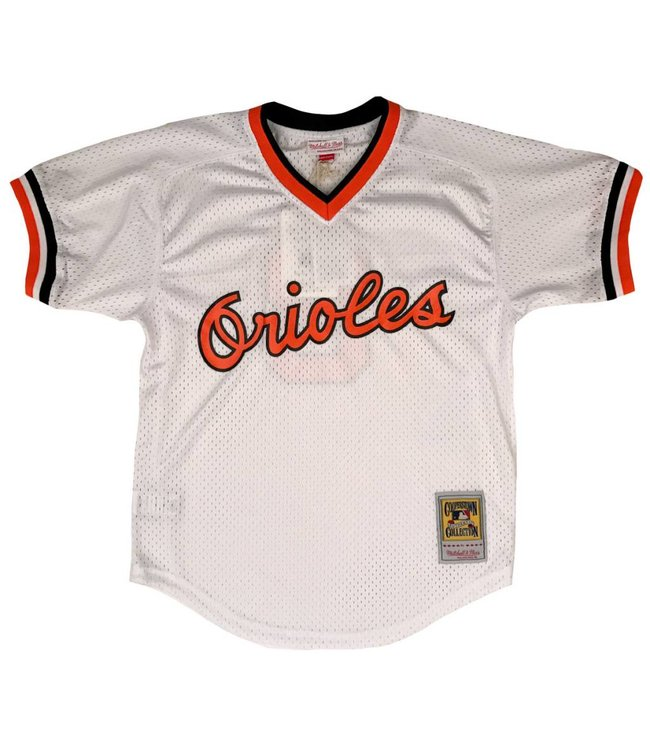 MITCHELL AND NESS Cal Ripken Jr. 1985 Orioles Authentic Batting Practice Jersey