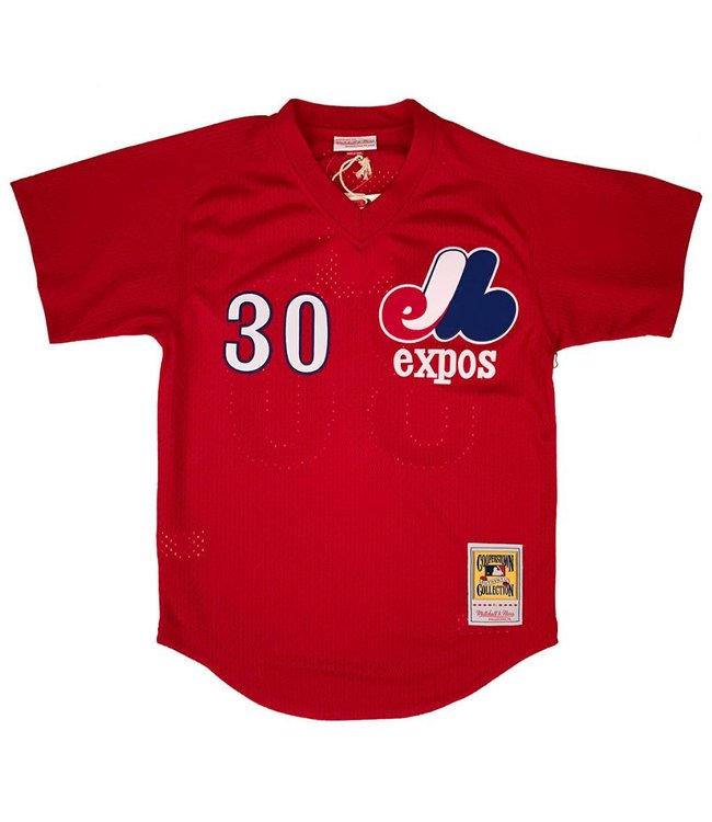 MITCHELL AND NESS Tim Raines 1989 Expos Authentic Batting Practice Jersey