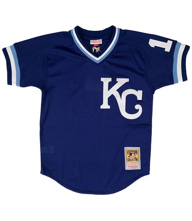 MITCHELL AND NESS Bo Jackson 1989 Royals Authentic Batting Practice Jersey