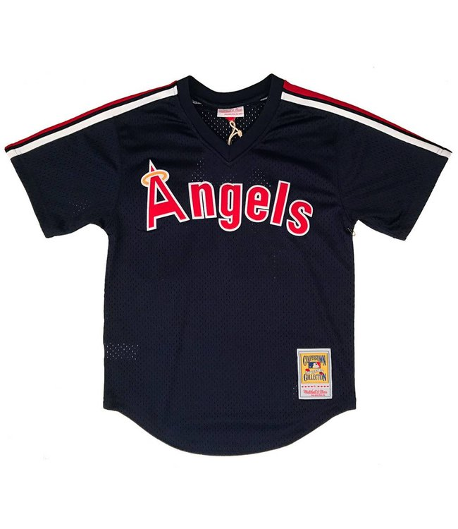 MITCHELL AND NESS Reggie Jackson 1984 Angels Authentic Batting Practice Jersey