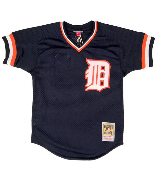 MITCHELL AND NESS Kirk Gibson 1984 Tigers Authentic Batting Practice Jersey
