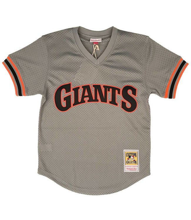 MITCHELL AND NESS Will Clark 1989 Giants Authentic Batting Practice Jersey