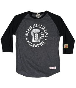 MITCHELL AND NESS '77 ALL-STAR 3/4 RAGLAN
