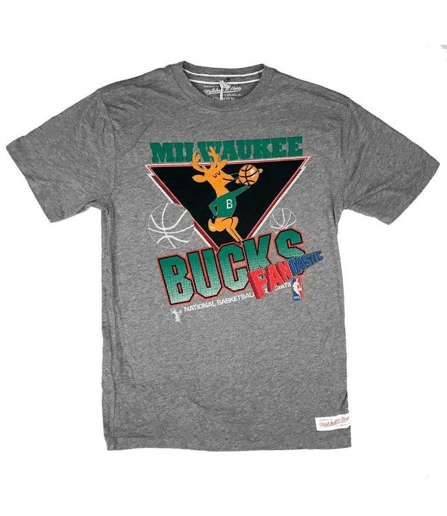 MITCHELL AND NESS Retro Cut To Basket T-Shirt