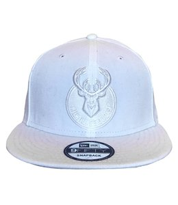 NEW ERA WHITE PRIMARY MONO HAT
