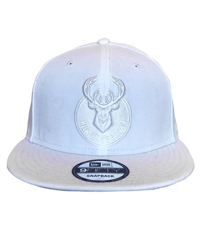 NEW ERA White Primary Mono Snapback Hat