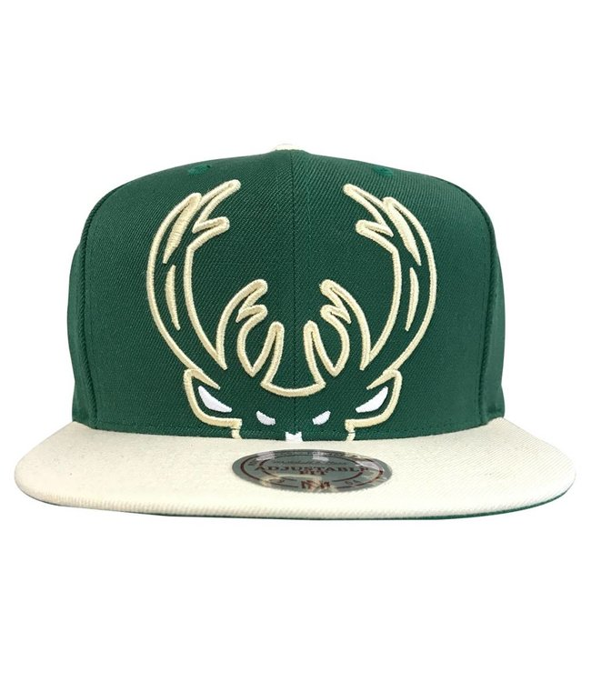 MITCHELL AND NESS Current Cropped XL Logo Snapback HAT