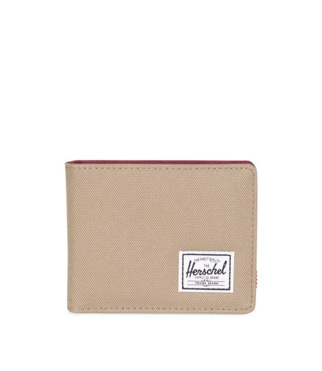 HERSCHEL SUPPLY CO. Roy Wallet - Brindle/Windsor Wine