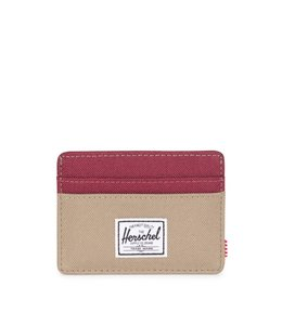 HERSCHEL SUPPLY CO. CHARLIE - BRINDLE/WINDSOR WINE