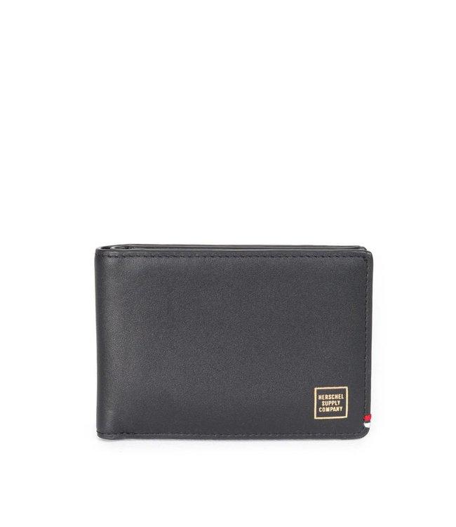 HERSCHEL SUPPLY CO. Merritt Wallet - Black Leather