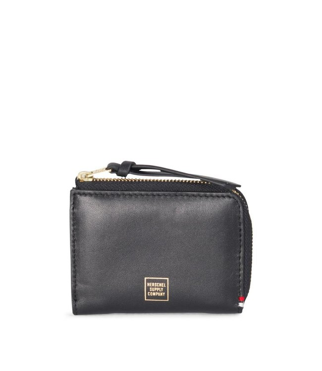 HERSCHEL SUPPLY CO. Lamont Wallet - Black Leather