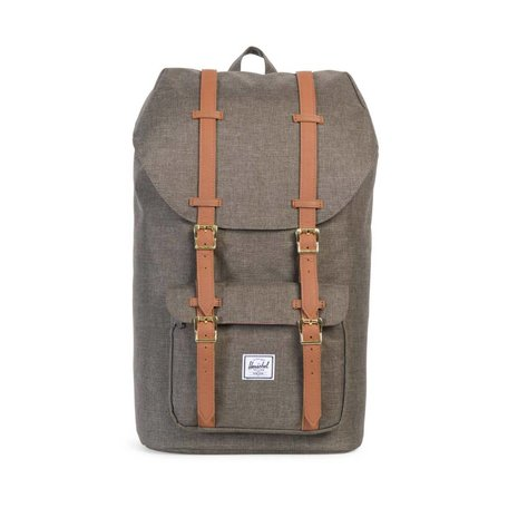 LITTLE AMERICA - CANTEEN CROSSHATCH/TAN SYNTHETIC LEATHER