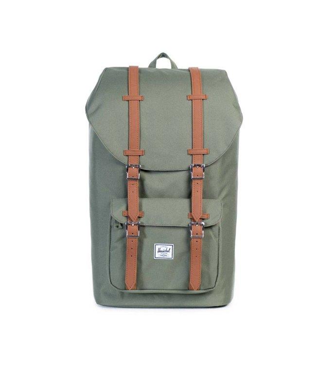 HERSCHEL SUPPLY CO. Little America Backpack - Deep Lichen Green