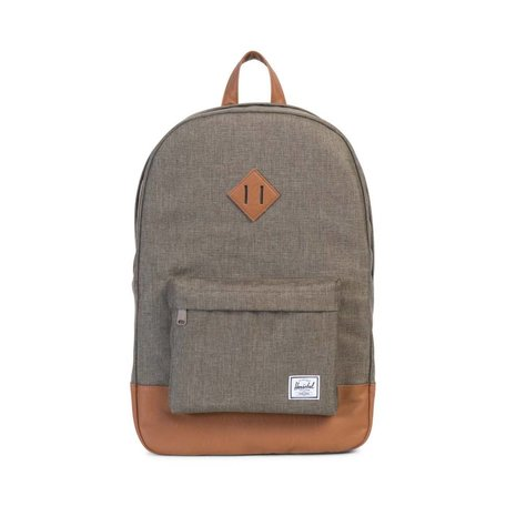 HERITAGE - CANTEEN CROSSHATCH/TAN SYNTHETIC LEATHER
