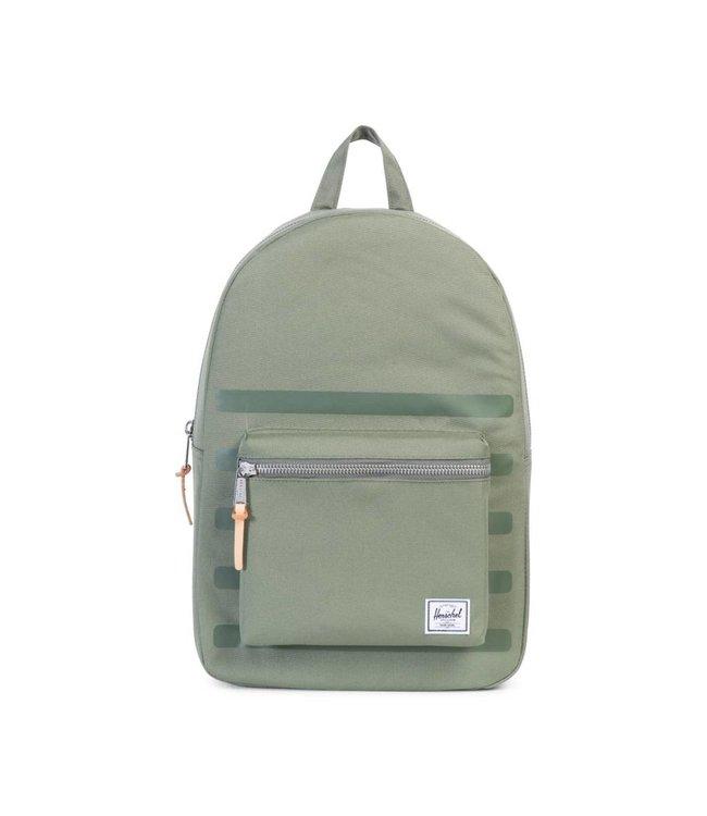 HERSCHEL SUPPLY CO. Settlement Backpack - Deep Lichen Green Stripe
