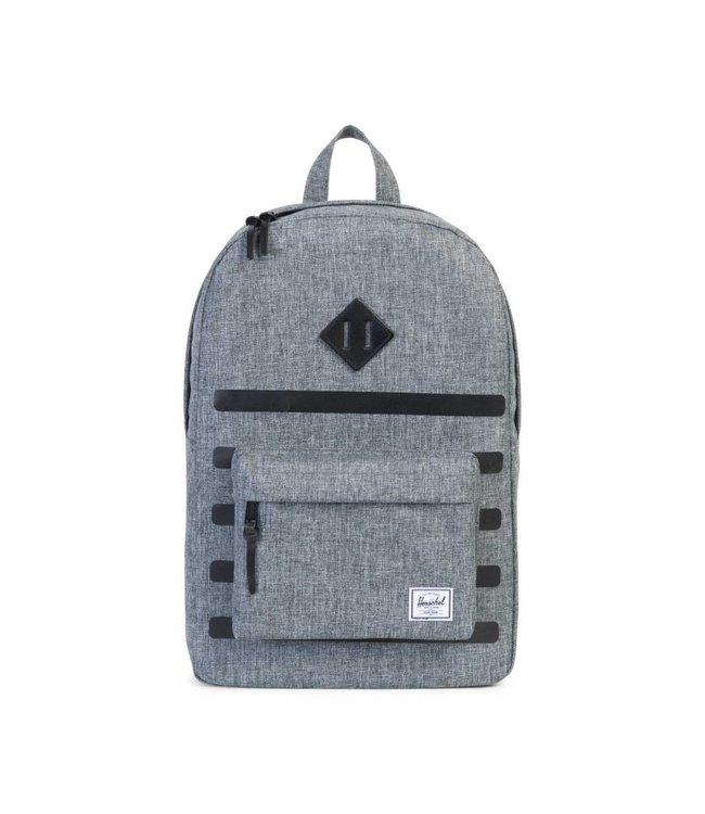 HERSCHEL SUPPLY CO. Heritage Backpack - Raven Crosshatch Stripe