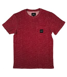HUF HEATHER BOX LOGO TEE