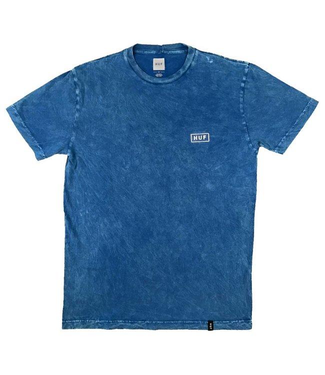HUF Acid Wash Bar Logo T-Shirt