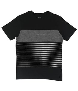 RVCA STATIC STRIPE TEE