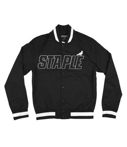 STAPLE NYLON BASEBALL JACKET