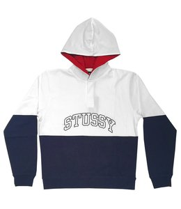 STUSSY BLOCK HOODED JERSEY