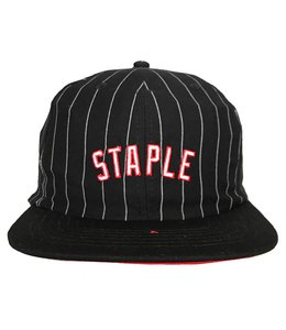 STAPLE PINSTRIPE STRAPBACK HAT