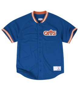 MITCHELL AND NESS SEASONED CAVALIERS PRO MESH BUTTON