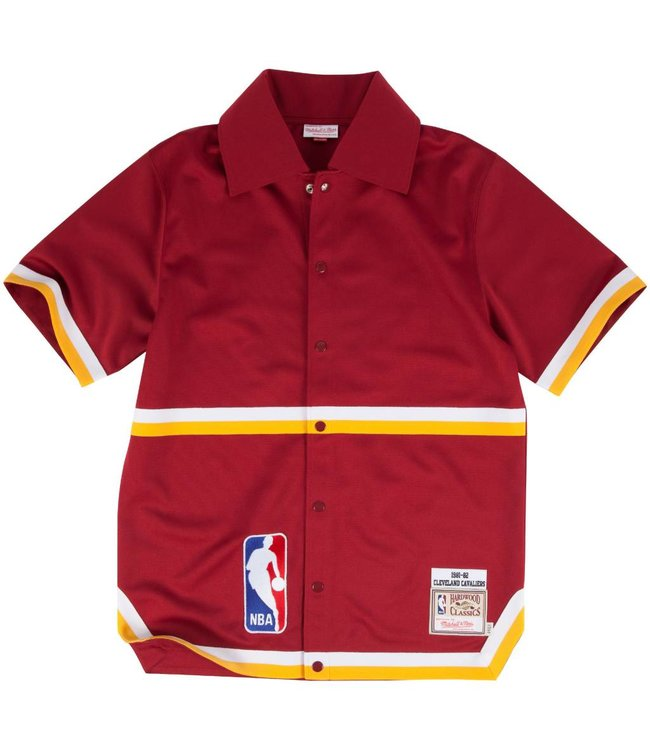 MITCHELL AND NESS 1981-82 Authentic Cleveland Cavaliers Shooting Shirt
