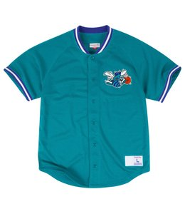 MITCHELL AND NESS SEASONED HORNETS PRO MESH BUTTON