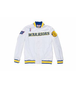 MITCHELL AND NESS 1996-97 WARRIORS WARM UP JACKET