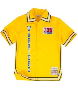 MITCHELL AND NESS 1980-81 WARRIORS SHOOTING SHIRT