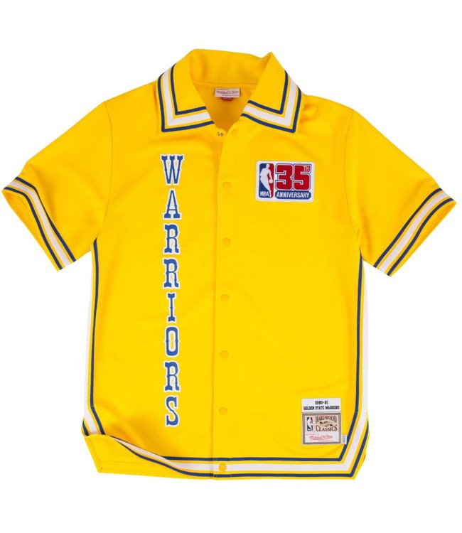 MITCHELL AND NESS 1980-81 Authentic Golden State Warriors Shooting Shirt