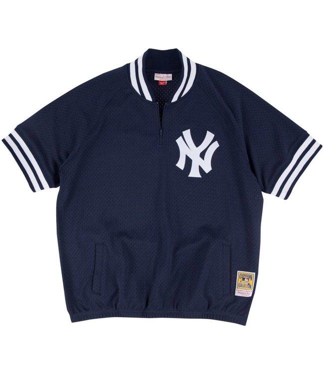 MITCHELL AND NESS Authentic New York Yankees 1/4 Zip Batting Pratice Jersey
