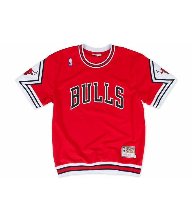 MITCHELL AND NESS 1987-88 Authentic Chicago Bulls Shooting Shirt