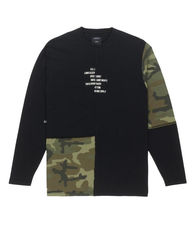 10.DEEP Surplus Camo Long Sleeve