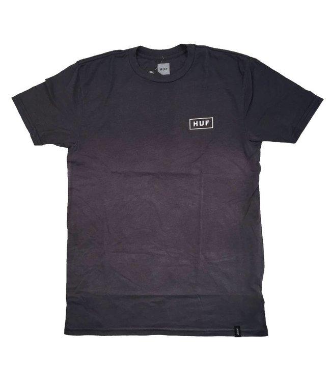 HUF Bar Logo Dipped Heather T-Shirt