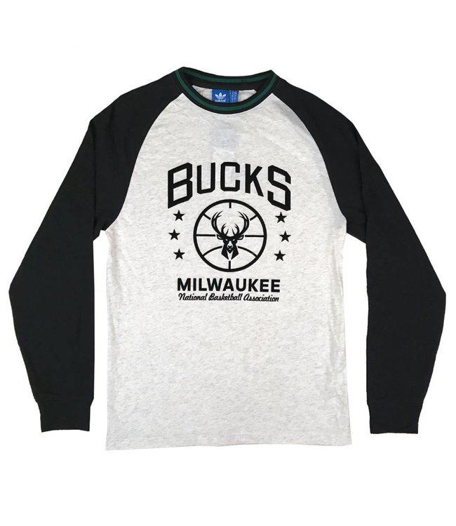ADIDAS Flocked Original Long Sleeve T-Shirt