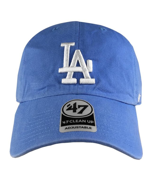 '47 BRAND Los Angeles Dodgers  Pastel Clean Up Strapback Hat
