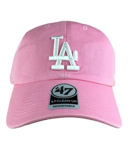 '47 BRAND DODGERS PASTEL CLEAN UP STRAPBACK