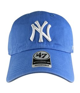 '47 BRAND YANKEES PASTEL CLEAN UP STRAPBACK