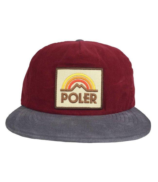 POLER Furry Grampa Cordy Snapback Hat