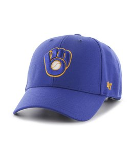 '47 BRAND MILWAUKEE BREWERS MVP STRAPBACK