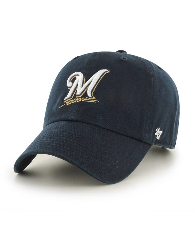 '47 BRAND Milwaukee Brewers Clean Up Hat
