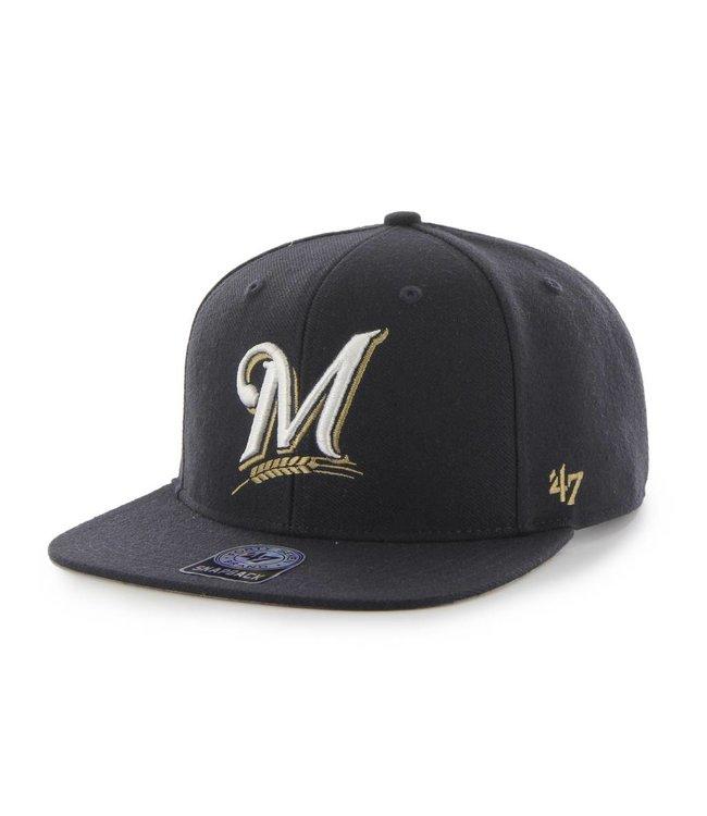 '47 BRAND Milwaukee Brewers Sure Shot Hat