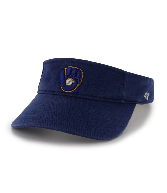 '47 BRAND Milwaukee Brewers Clean Up Visor