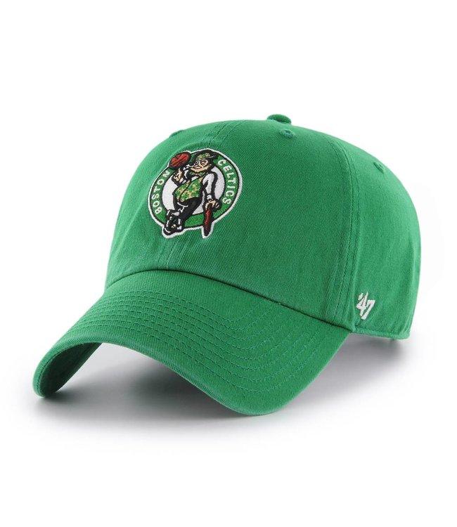 '47 BRAND Boston Celtics Clean Up Hat