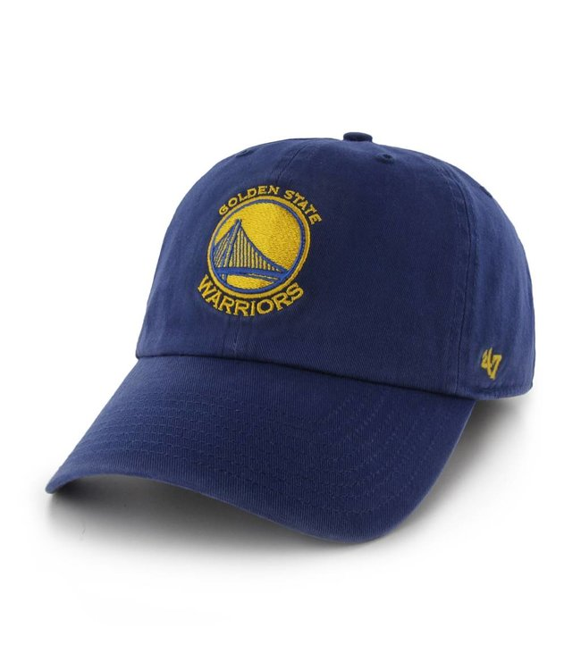 '47 BRAND Golden State Warriors Clean Up Hat