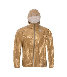 K-WAY LE VRAI CLAUDE 3.0 - METALLIC GOLD